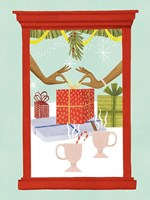Retro Jingle Ball II Fine Art Print
