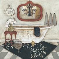 Casual Bath I Fine Art Print