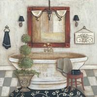Casual Bath II Fine Art Print