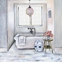 Neutral Bath II Fine Art Print
