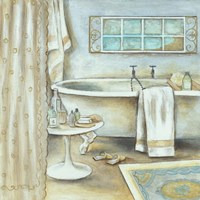 Soft Bath I Fine Art Print