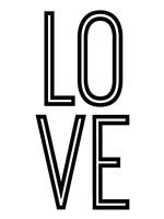Bold Love II Fine Art Print