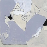 Grey Landscape IV Fine Art Print
