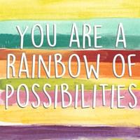Rainbow of Possibilities II Fine Art Print