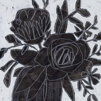 Chalkboard Garden I Fine Art Print
