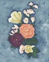 Floral Portrait I Fine Art Print