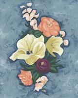 Floral Portrait II Fine Art Print