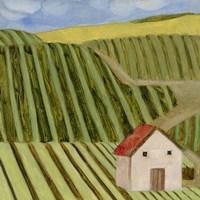 Mountain House I Fine Art Print