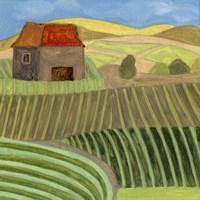 Mountain House II Fine Art Print