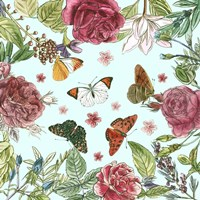 Circular Butterfly I Fine Art Print