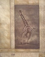Giraffe Odyssey Fine Art Print