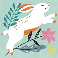 Easter Bunnies I Fine Art Print