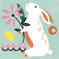 Easter Bunnies II Fine Art Print