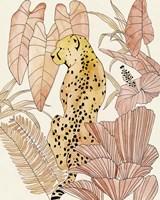 Blush Cheetah I Fine Art Print
