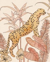 Blush Cheetah II Fine Art Print
