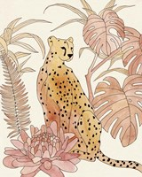 Blush Cheetah III Fine Art Print