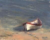 Beached Boat I Fine Art Print