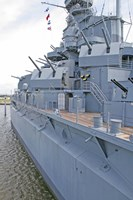 USS Alabama Battleship Memorial Park Mobile Alabama Fine Art Print