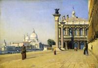 Morning in Venice, 1834 Fine Art Print