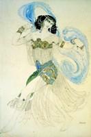 Dance of the Seven Veils, 1908 Fine Art Print