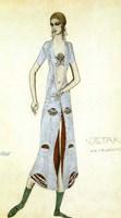Costume design for Ida Rubinstein as Ishtar, 1924 Fine Art Print