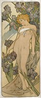 Irises, 1898 Fine Art Print