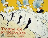 La Troupe De Mlle Eglantine, 1896 Fine Art Print