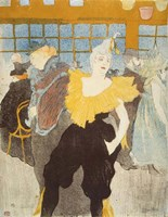 La Clownesse in the Moulin Rouge, 1897 Fine Art Print