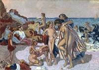 Bacchus and Ariadne, 1907 Fine Art Print