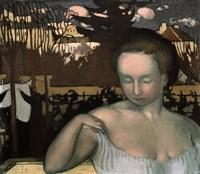 Portrait of the Artists Wife, 1893 Fine Art Print