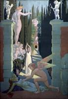 The Story of Psyche - The Vengeance of Venus, 1908 Fine Art Print