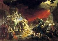 The last Day of Pompeii, 1833 Fine Art Print