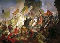The Siege of Pskov by Stephen Bathory in 1581, 1839-1843 Fine Art Print