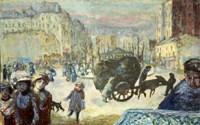 Morning in Paris, 1911 Fine Art Print