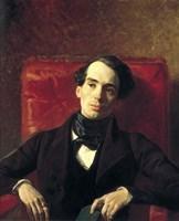 Portrait Alexander Strugovshchikov, 1840 Fine Art Print