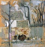 Corner of Paris, c1905 Fine Art Print