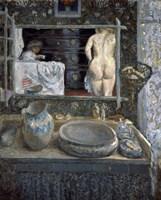 Mirror Above a Washstand, 1908 Fine Art Print