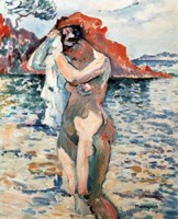A Bather, 1906 Fine Art Print