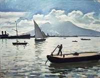The Bay of Naples, 1909 Fine Art Print
