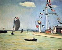 Honfleur Harbour, c1911 Fine Art Print