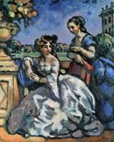 The Terrace, 1909 Fine Art Print