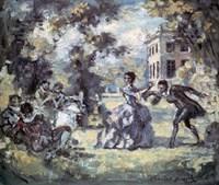 Amorous Scene, c1908 Fine Art Print