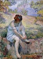 Before Bathing, 1906-1907 Fine Art Print