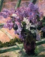 Lilacs in a Window, c1880 Fine Art Print