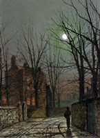 By the Light of the Moon, 1882 Fine Art Print