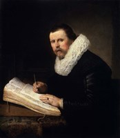 Portrait of a Scholar, 1631 Fine Art Print