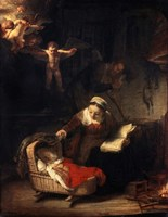The Holy Family, 1645 Fine Art Print