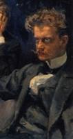 The Symposium, (Detail: Jean Sibelius), 1894 Fine Art Print