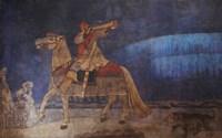 Kullervo Rides to War, 1901 Fine Art Print