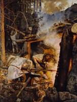 The Forging of the Sampo, 1893 Fine Art Print